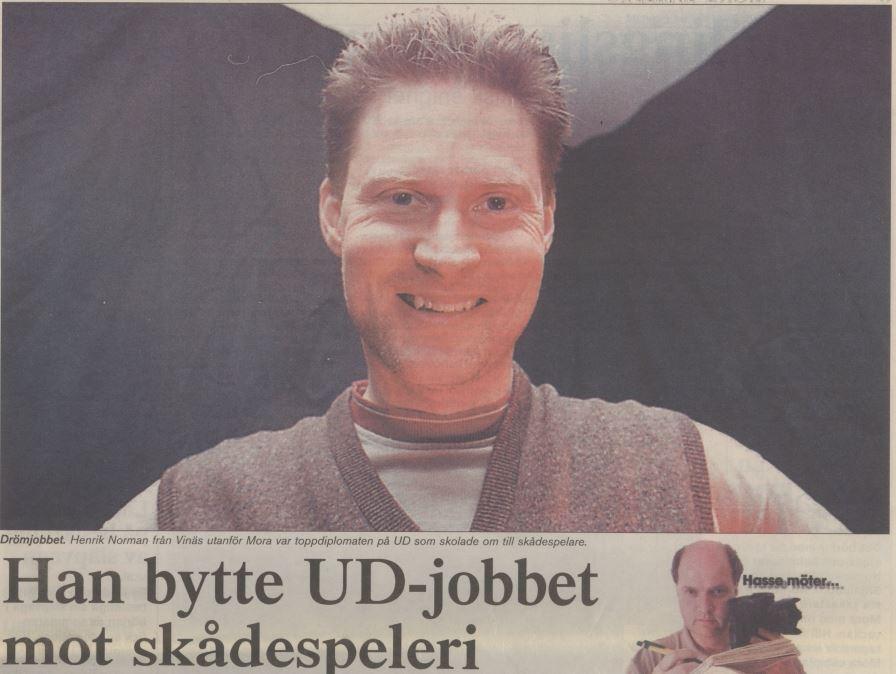 Artikel Mora Tidning 1999-07-19